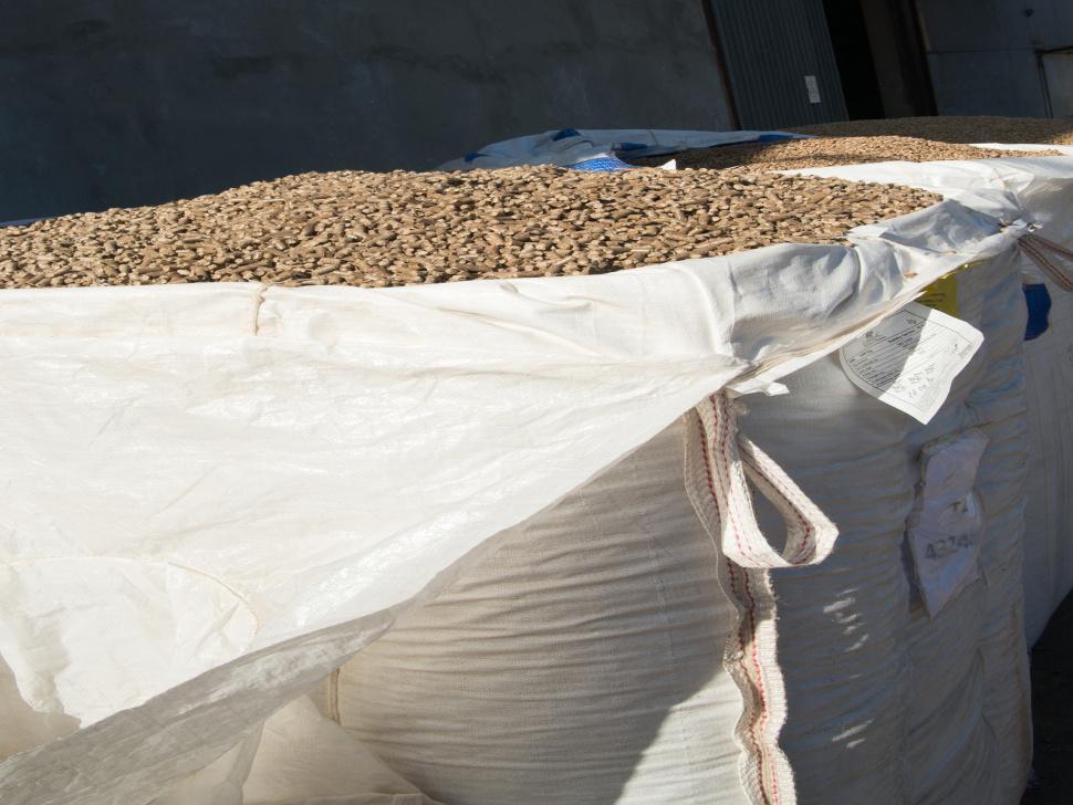 Перспективная технология: хранение зерновых в бигбэгах